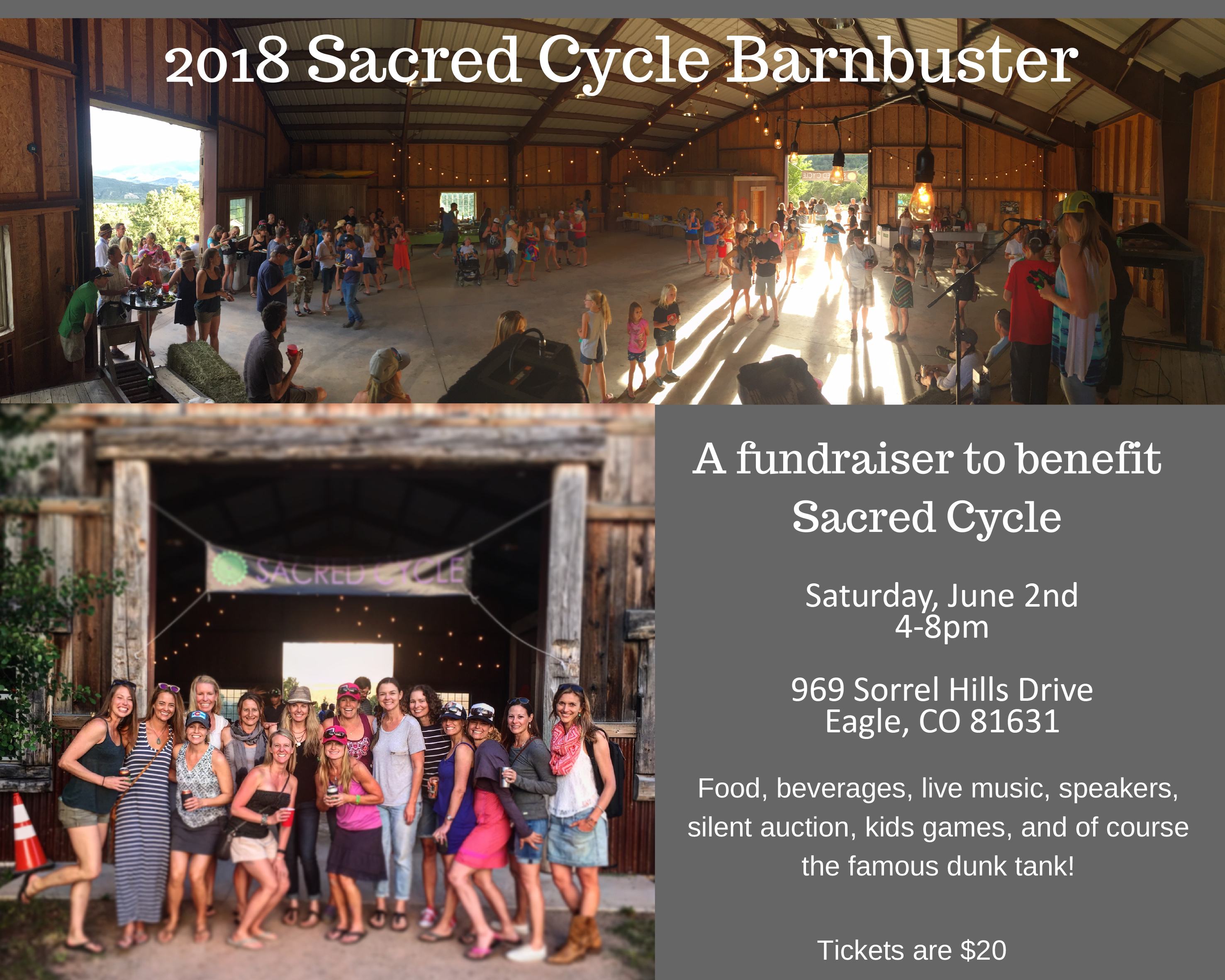 Sacred Cycle Barnbuster 2018