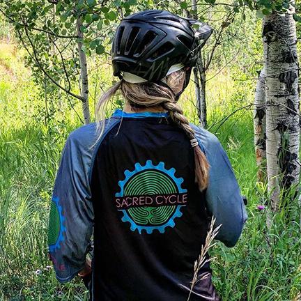 Sacred Cycle 2019 Enduro Jersey Back