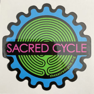 sacred cycle sticker