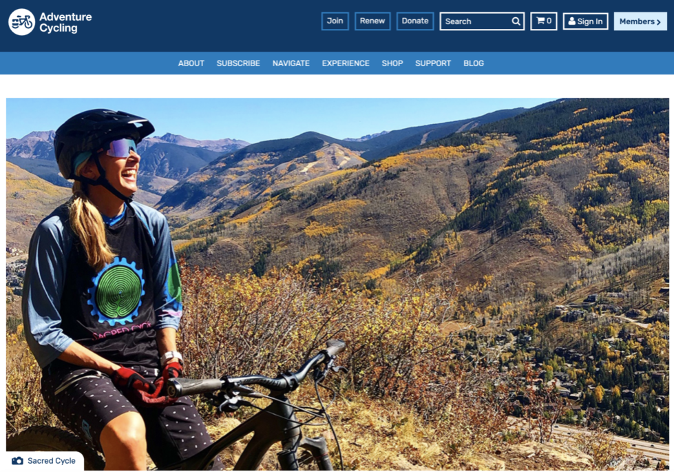 Sacred Cycle 2020 Adventure Cycling